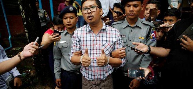 Myanmar'da Reuters muhabirlerine 7'şer yıl hapis