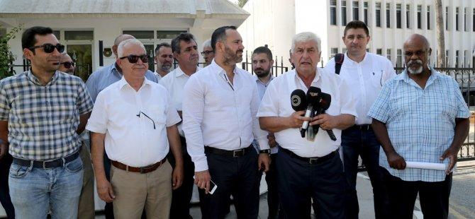 Sendikal Platform, Başbakan Erhürman'ı ziyaret etti.