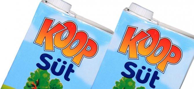 Koop-Süt, ürünlerine zam yaptı