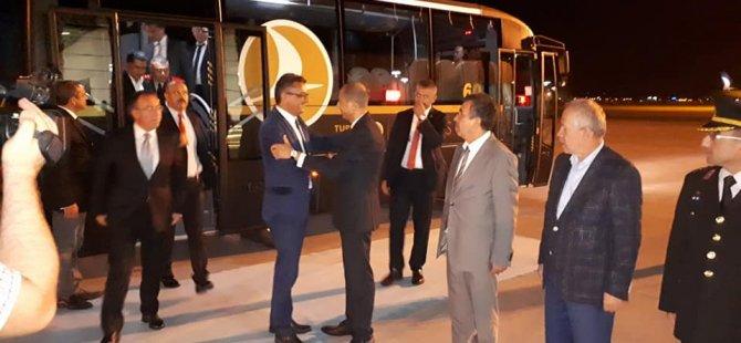 Başbakan Tufan Erhürman Ankara'da
