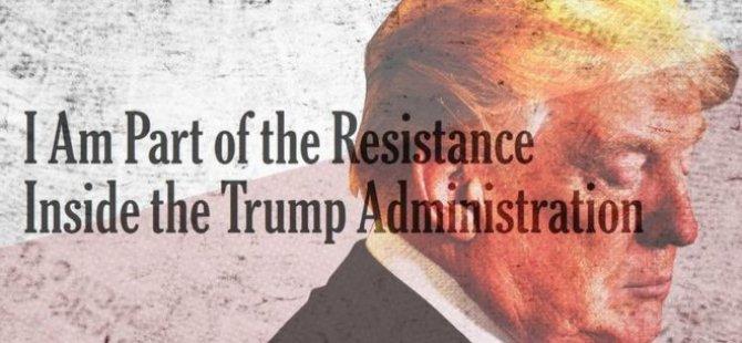 Trump'a Beyaz Saray'da direniş başladı