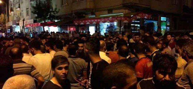Elazığ'da Suriyelileri darbedip işyerlerini yıktılar
