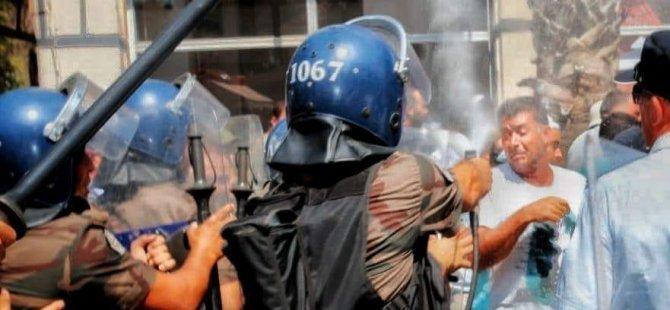 İnsan Hakları Vakfı: Biber gazı ve aşırı güç kullananlara soruşturma açılmalı