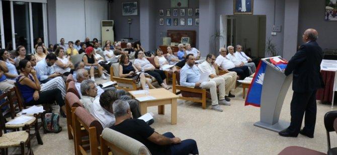 TDP Lefkoşa ilçesi 6. olağan kongresi yapıldı