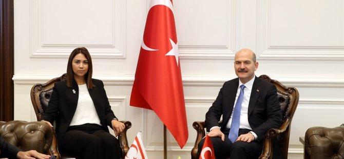 Baybars, Türkiye İçişleri Bakanı Soylu ile görüştü