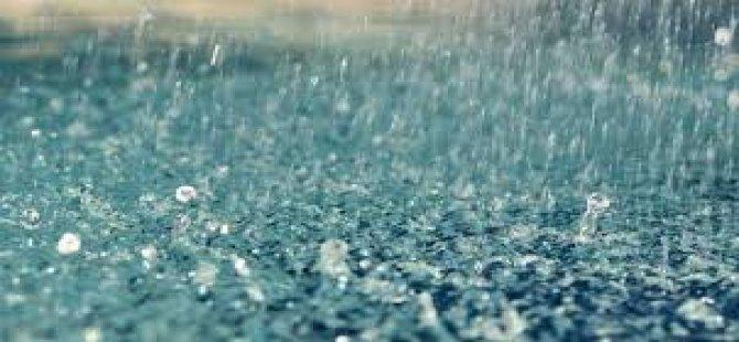 En çok yağmur Alsancak ve Malıdağ'da kaydedildi