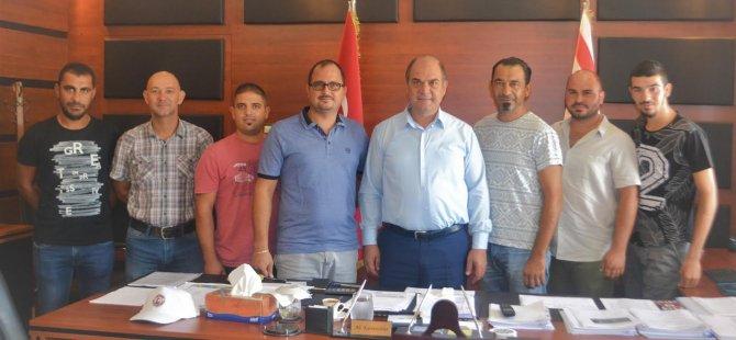 Cihangir Avcılık Atıcılık Birliği Karavezirler'i ziyaret etti