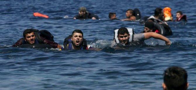 Yine göçmen faciası : Bot battı çok sayıda ölü var