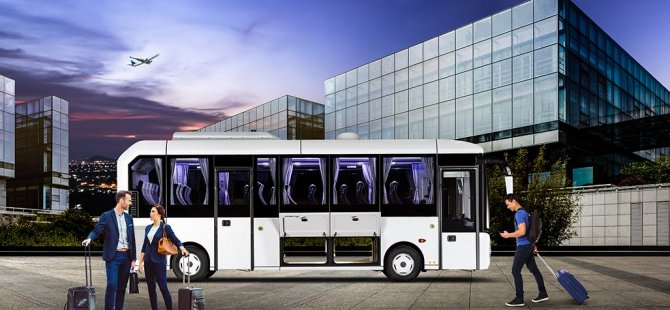 Sürücüye alkol testi yapan yerli otobüs!