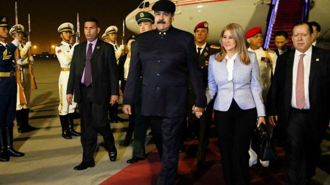 Maduro, Pekin'de: Çin bizim ablamız