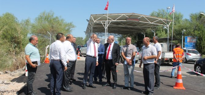 Metehan Sınır Kapısı'nda 3. şerit hizmete girdi