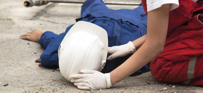 Yine iş kazası: Bir yaralı