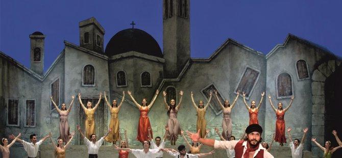 Zorba Balesi Girne Amfitiyatro'da sahnelenecek
