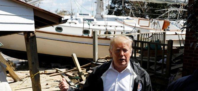 Trump'tan yeni gaf: ''En azından bu işten güzel bir tekneniz olmuş''