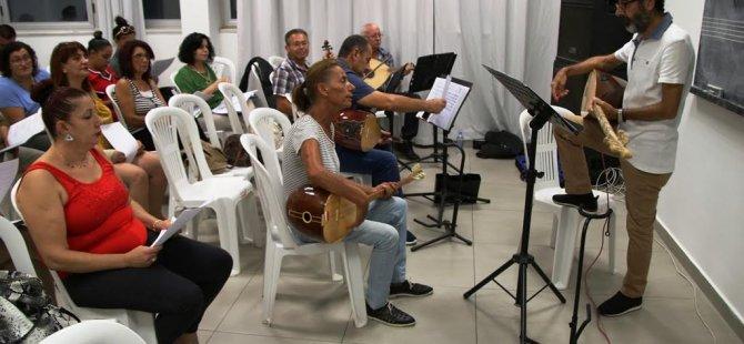 Gazimağusa Belediyesi Türk Halk Müziği  Korosu yeni dönem çalışmalarına başladı