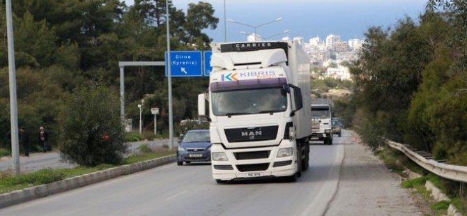 5 ton ve üzeri ağır vasıtalar hafta içi 07:00 08:00 arası yola çıkmaları yasak
