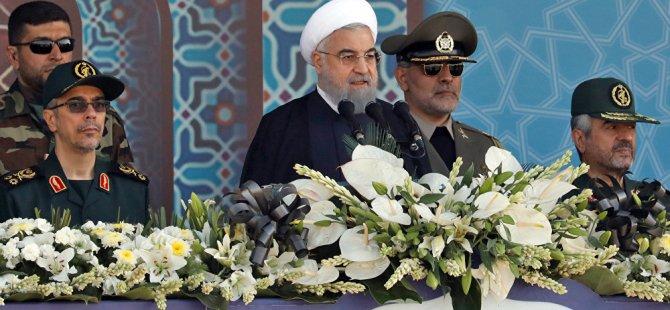 Ruhani: Trump'ın akıbeti de Saddam gibi olacak