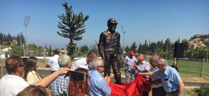 60 yıl sonra onurlandırıldılar, Lefke'ye Madenci anıtı törenle açıldı