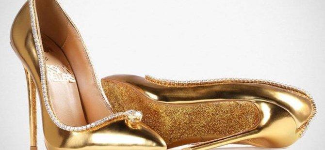 Dünyanın en pahalı ayakkabısını alacak enayi aranıyor
