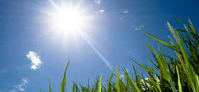 """Meteoroloji Dairesi: """"Hava açık en yüksek sıcaklık 35 derece dolaylarında olacak"""""""