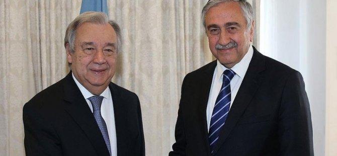Akıncı - Guterres görüşmesi Cuma gününe alındı