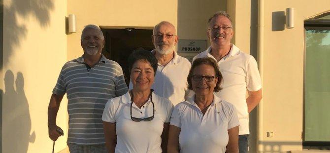 Golf'ta Kulüpler Arası Turnuvaların Liderleri Gaziveren Golf Kulübü ve Çetinkaya Golf Kulübü...
