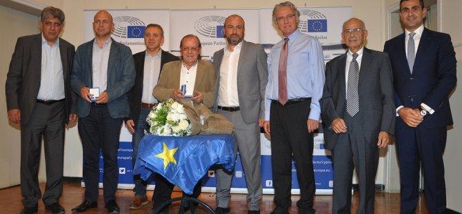 """""""2018 Avrupa Vatandaşı"""" ödül töreni ara bölgedeki Goethe Estitüsünde yapıldı"""