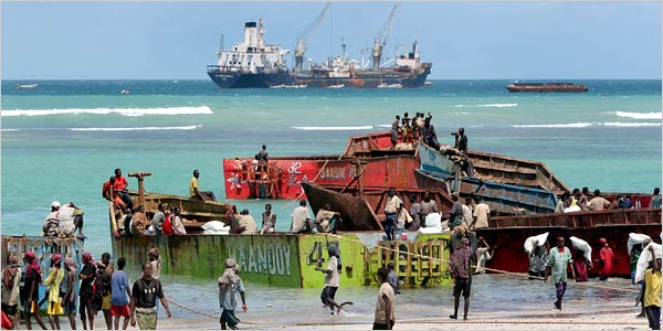 Gabon'da Türk şirketinin tankeri kaçırıldı