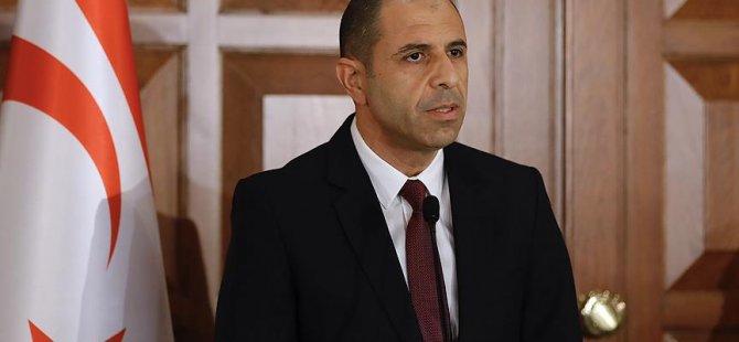 """Özersay: """"BM Kıbrıs raporuyla şapkadan tavşan çıkarmayacak"""""""