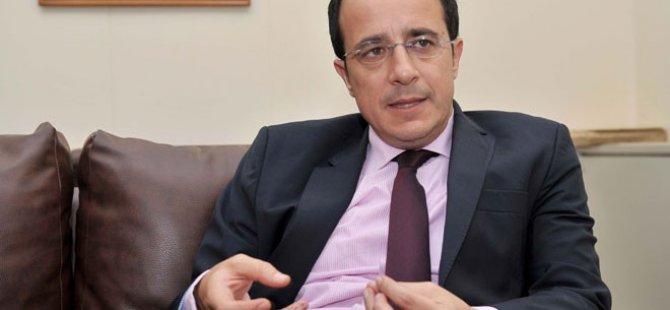 Hristodulidis 8 Kasım'da ABD Dışişleri Bakanı ile görüşecek
