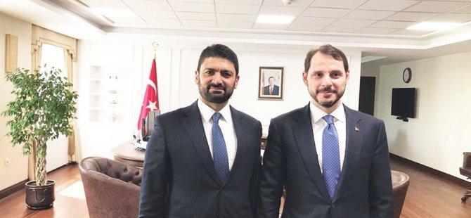 Atun, Ankara'da Maliye Bakanı Albayrak ile görüştü