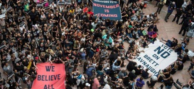 ABD'de 'Yargıç Kavanaugh protestosu': 300'den fazla gözaltı