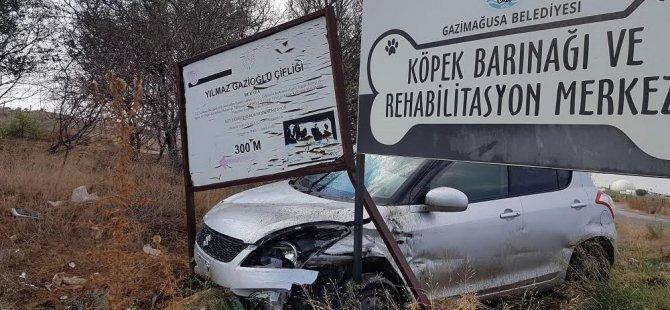 Dikkatsizlik kazaya neden oldu