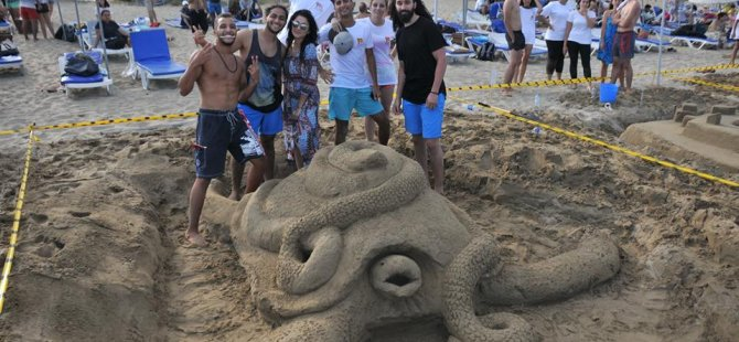 DAÜ XII. kumdan Heykel Festivali ve yarışması yapıldı