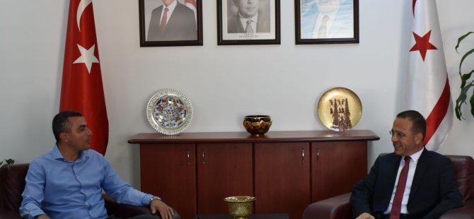 Bakan Şahali, Kamu İş Başkanı ve Yönetim Kurulu üyelerini kabul etti