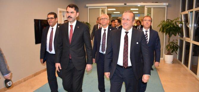 """Ataoğlu: """"Çevre ve Şehircilik Bakanlığı ile her zaman işbirliği içerisinde çalışıyoruz"""""""