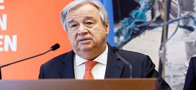 Guterres, Kıbrıs raporunu Güvenlik Konseyi'ne sundu