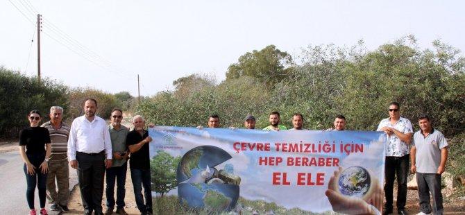 """Sadıkoğlu: """"Temizlik kültür ve saygı işidir"""""""