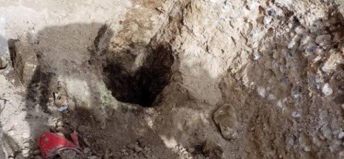 Şirinevler'de bir kişiye ait kalıntılar tespit edildi