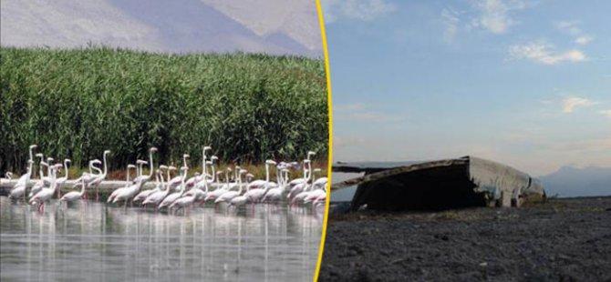 Afyonkarahisar'daki Eber Gölü tamamen kurudu