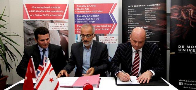 Arucad ile De Montfort Üniversitesi arasında iş birliği protokolü imzalandı