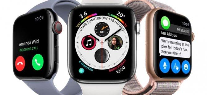 Apple'ın Kalp Ritmini Ölçen, Düşerken Uyarı Veren Yeni Akıllı Saati Türkiye'de Satışa Sunuldu