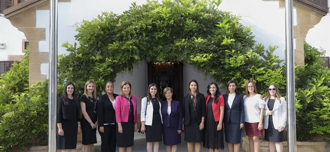 Cumhurbaşkanlığı'nda kadın ve çocuk haklarının korunup geliştirilmesi ile ilgili yürütülen çalışmalar konuşuldu