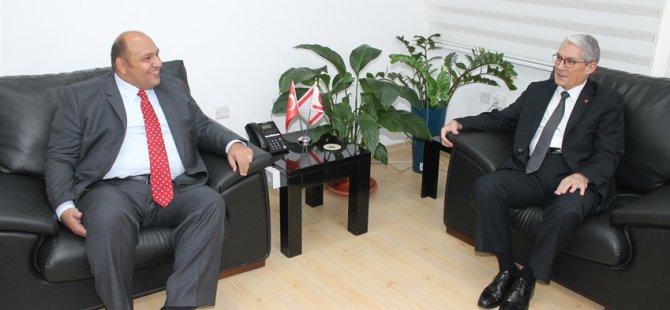 Büyükelçi Kanbay, Bakan Atakan'a veda ziyaretinde bulundu
