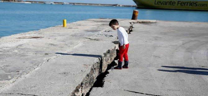 Yunanistan'da 6.8'lik deprem