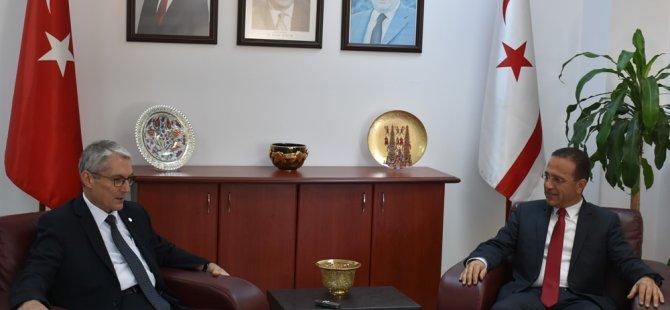 """Şahali: """"Kıbrıs tüm büyükelçilerin hayatında kalıcı iz bırakır"""""""