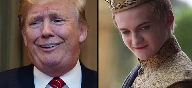 Game Of Thrones'un yazarı Martin, Trump'ı Joffrey'e benzetti