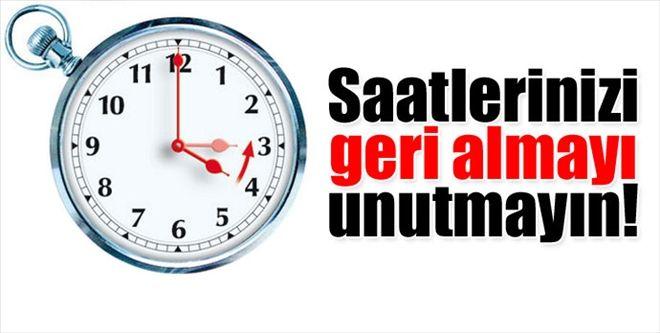 Dikkat! Kıbrıs'ta yaz saati uygulaması sona erdi: Saatler bir saat geri alındı