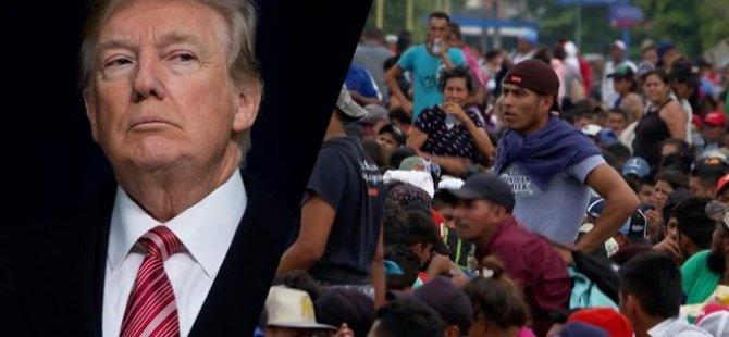 ABD'ye göçmen akını: Washington Meksika sınırına 5 bin 200 asker gönderiyor