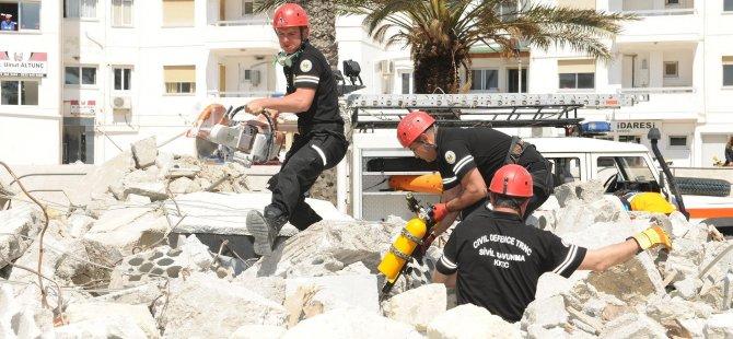 Sivil Savunma Afet Yönetimi ve Müdahale Tatbikatı yarın başlıyor